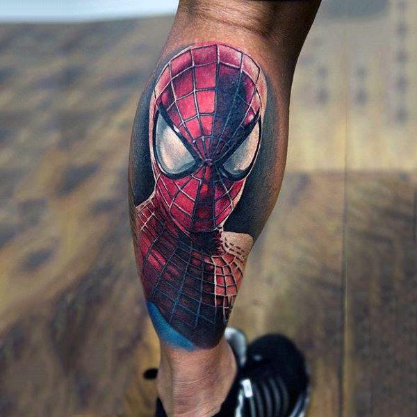 60 Ideas para Tatuajes de Spiderman (+Significados) 2