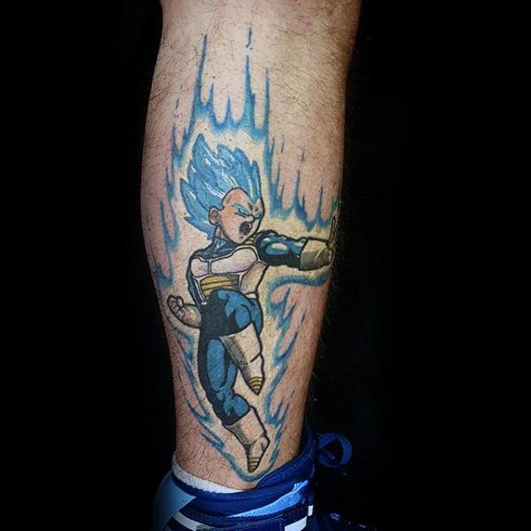 58 Mejores Tatuajes de Vegeta (+Significado) 2