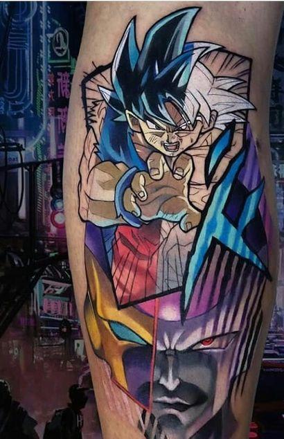 46 Mejores Tatuajes de Dragon Ball y variantes 31
