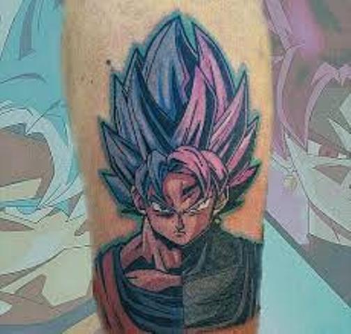 62 Mejores Tatuajes de Goku y sus Variantes 35