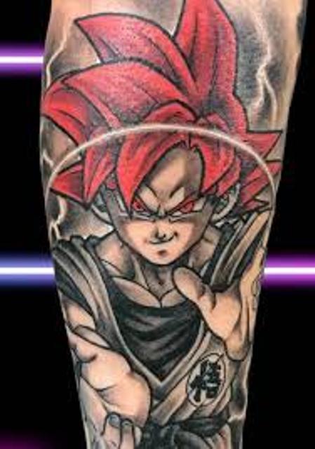 62 Mejores Tatuajes de Goku y sus Variantes 39