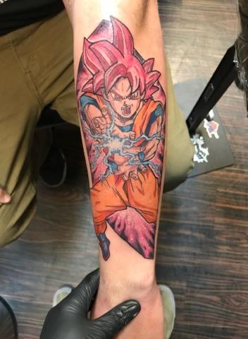 62 Mejores Tatuajes de Goku y sus Variantes 42