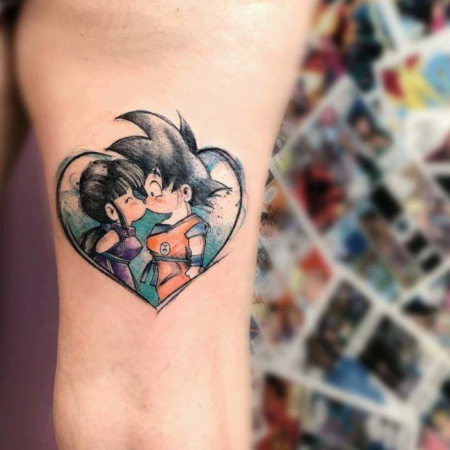 62 Mejores Tatuajes de Goku y sus Variantes 26