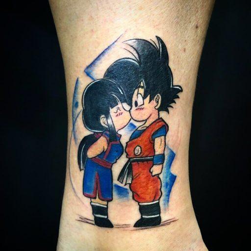 62 Mejores Tatuajes de Goku y sus Variantes 28