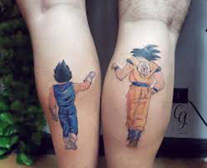 62 Mejores Tatuajes de Goku y sus Variantes 12