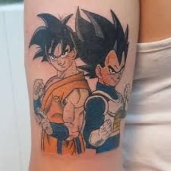 62 Mejores Tatuajes de Goku y sus Variantes 13