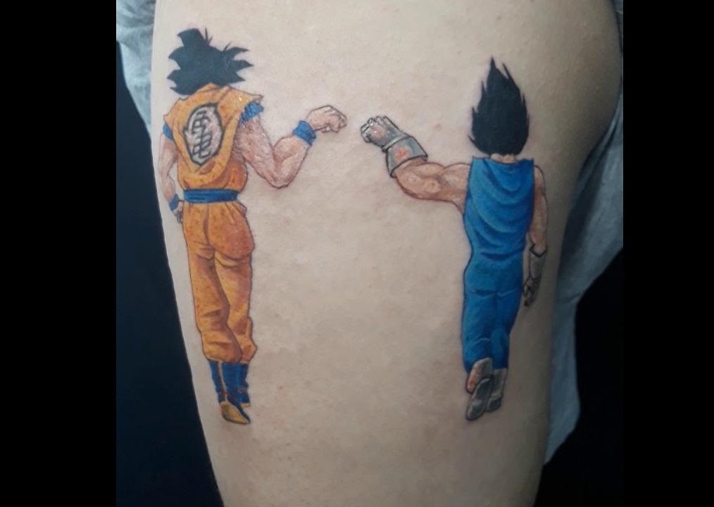62 Mejores Tatuajes de Goku y sus Variantes 14