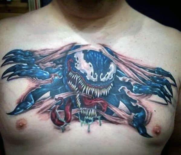 60 Ideas para Tatuajes de Spiderman (+Significados) 13