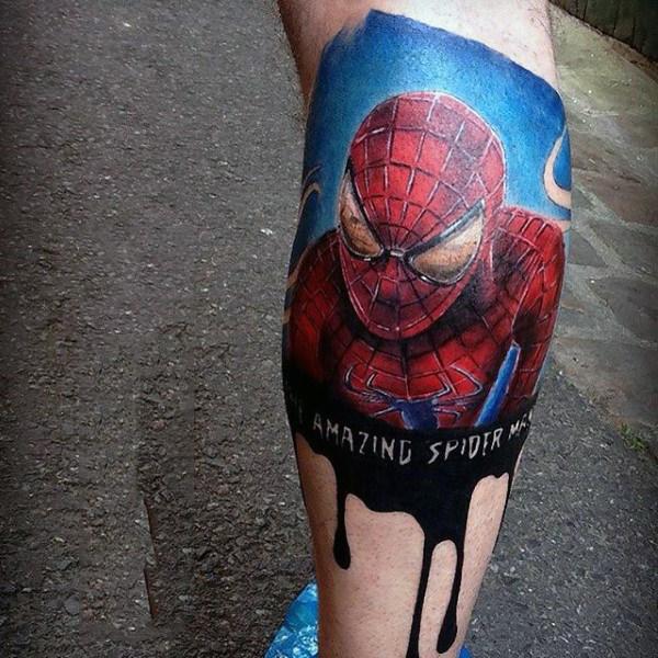 60 Ideas para Tatuajes de Spiderman (+Significados) 9