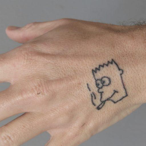 53 Tatuajes de los Simpson que te volaron la cabeza 16