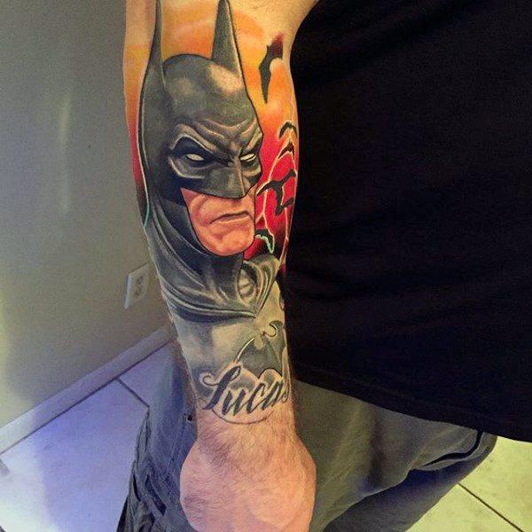 Tatuajes de Batman - Colección de las Mejores Ideas 41