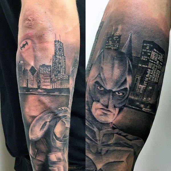 Tatuajes de Batman - Colección de las Mejores Ideas 33