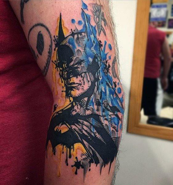 Tatuajes de Batman - Colección de las Mejores Ideas 37