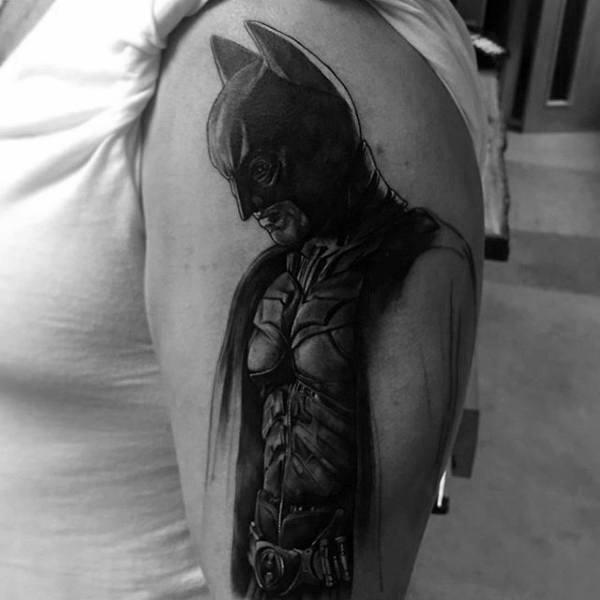 Tatuajes de Batman - Colección de las Mejores Ideas 38