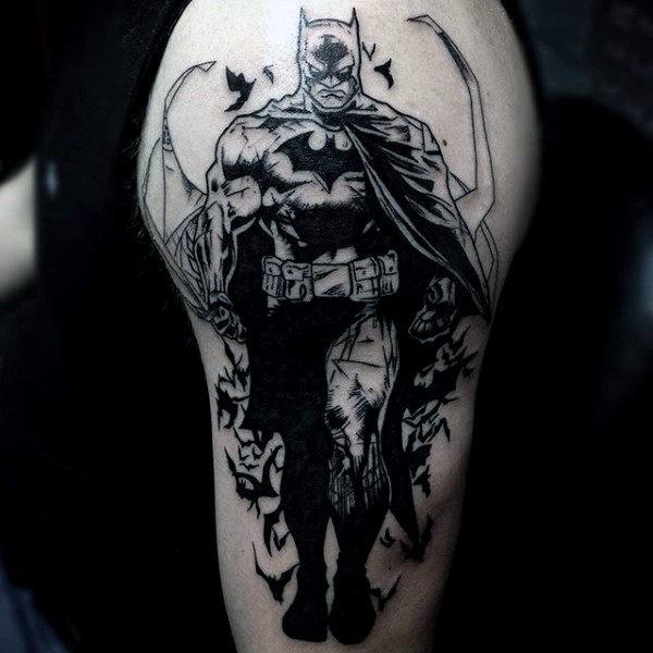Tatuajes de Batman - Colección de las Mejores Ideas 39