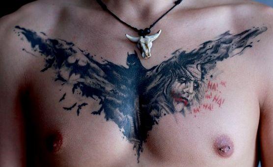 Tatuajes de Batman - Colección de las Mejores Ideas 42