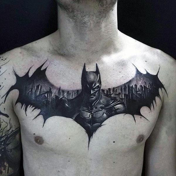Tatuajes de Batman - Colección de las Mejores Ideas 44