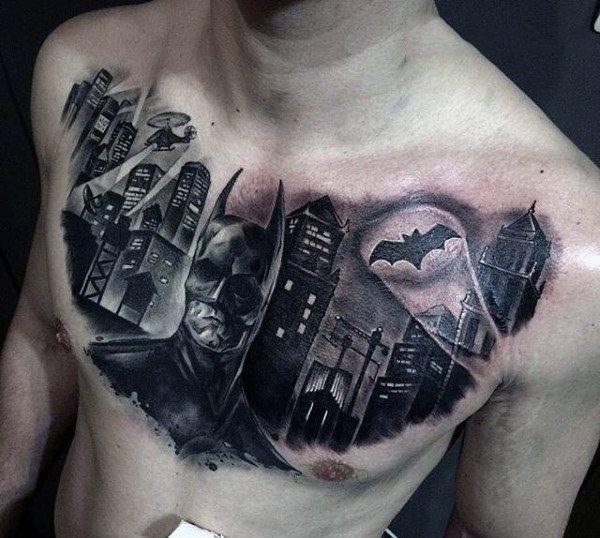 Tatuajes de Batman - Colección de las Mejores Ideas 45