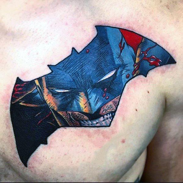 Tatuajes de Batman - Colección de las Mejores Ideas 46