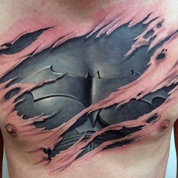 Tatuajes de Batman - Colección de las Mejores Ideas 48