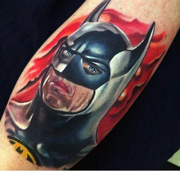 Tatuajes de Batman - Colección de las Mejores Ideas 18