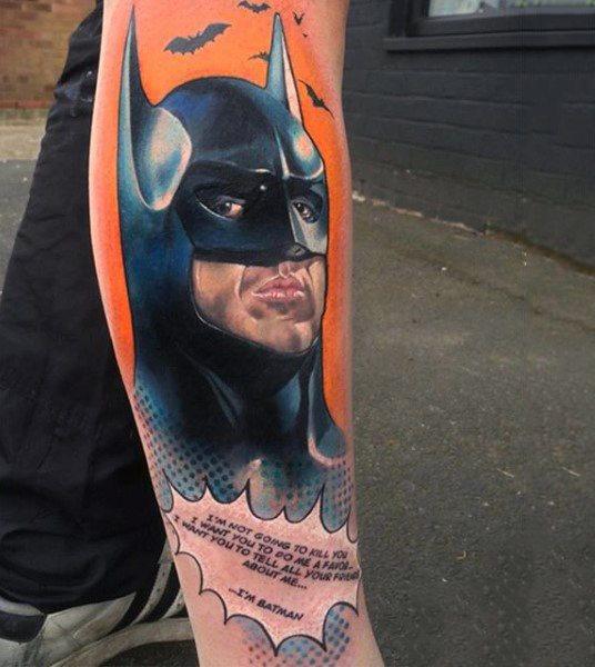 Tatuajes de Batman - Colección de las Mejores Ideas 20