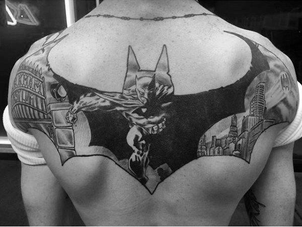 Tatuajes de Batman - Colección de las Mejores Ideas 21
