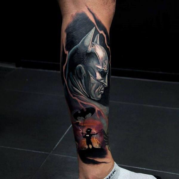 Tatuajes de Batman - Colección de las Mejores Ideas 22