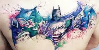 Tatuajes de Batman - Colección de las Mejores Ideas 9