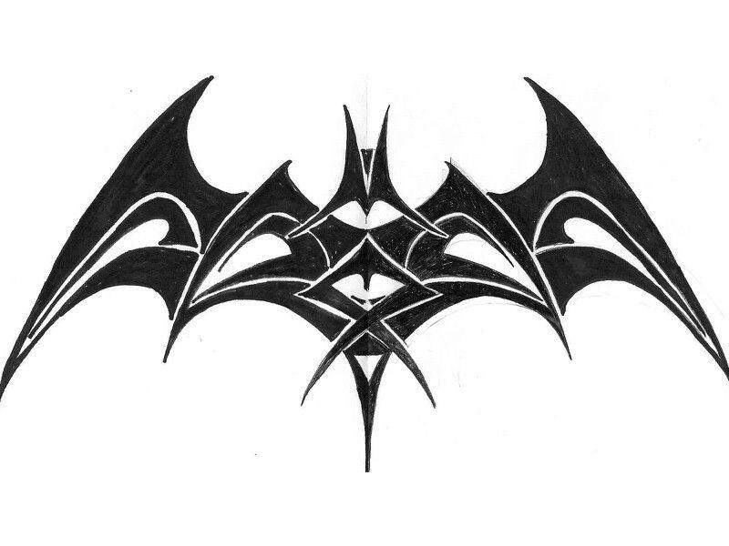 Tatuajes de Batman - Colección de las Mejores Ideas 49