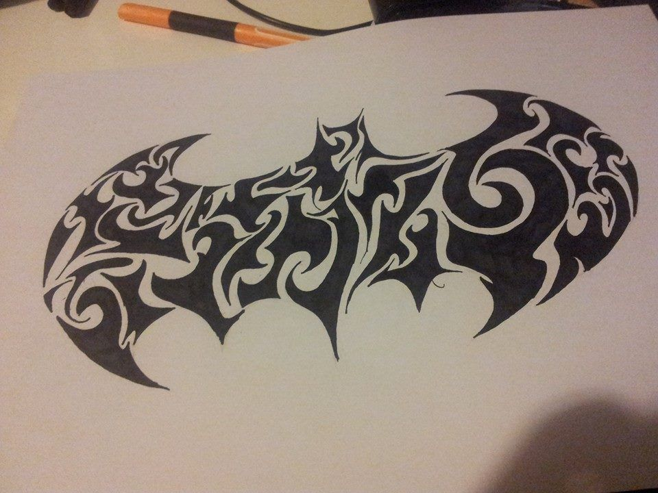 Tatuajes de Batman - Colección de las Mejores Ideas 51