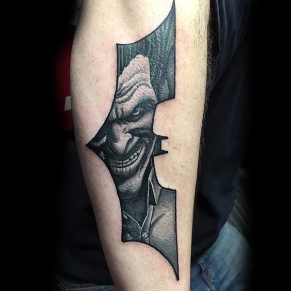 Tatuajes de Batman - Colección de las Mejores Ideas 10
