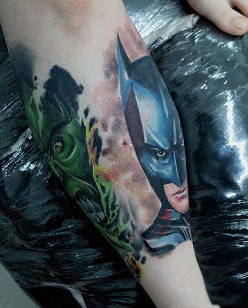 Tatuajes de Batman - Colección de las Mejores Ideas 11
