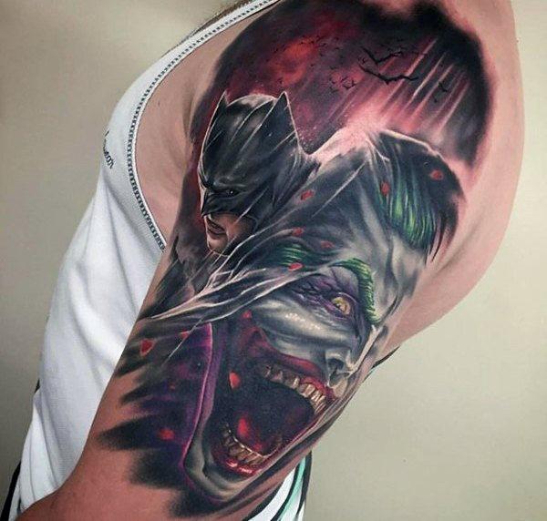 Tatuajes de Batman - Colección de las Mejores Ideas 12