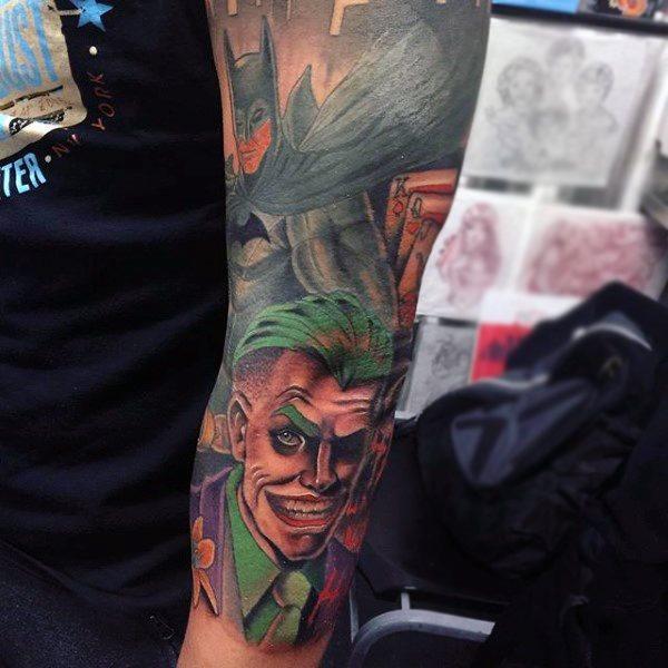 Tatuajes de Batman - Colección de las Mejores Ideas 13