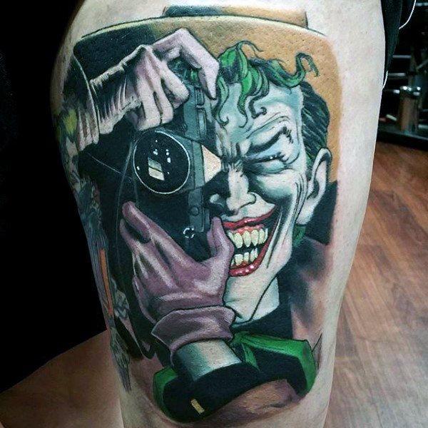 Tatuajes de Batman - Colección de las Mejores Ideas 14