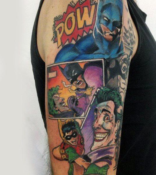 Tatuajes de Batman - Colección de las Mejores Ideas 15