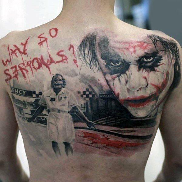 Tatuajes de Batman - Colección de las Mejores Ideas 16