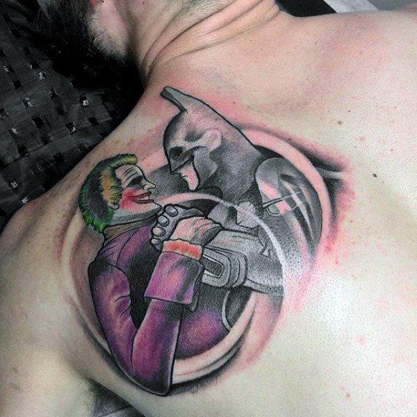 Tatuajes de Batman - Colección de las Mejores Ideas 17