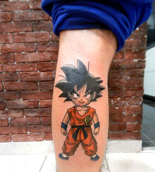 62 Mejores Tatuajes de Goku y sus Variantes 45