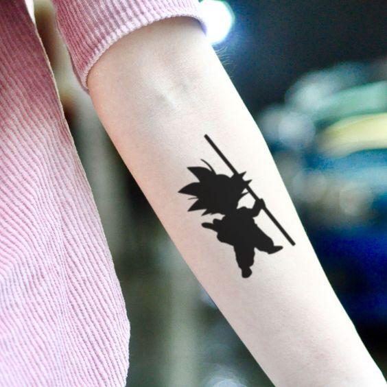 62 Mejores Tatuajes de Goku y sus Variantes 17