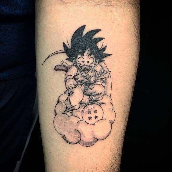62 Mejores Tatuajes de Goku y sus Variantes 21