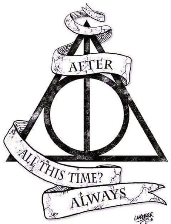 9 3/4 Ideas para Tatuajes de Harry Potter que todos los fans quieren 6