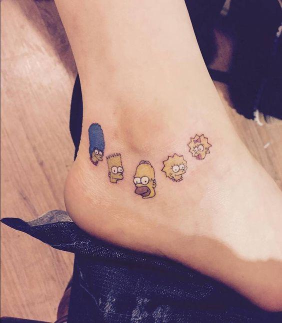 53 Tatuajes de los Simpson que te volaron la cabeza 47