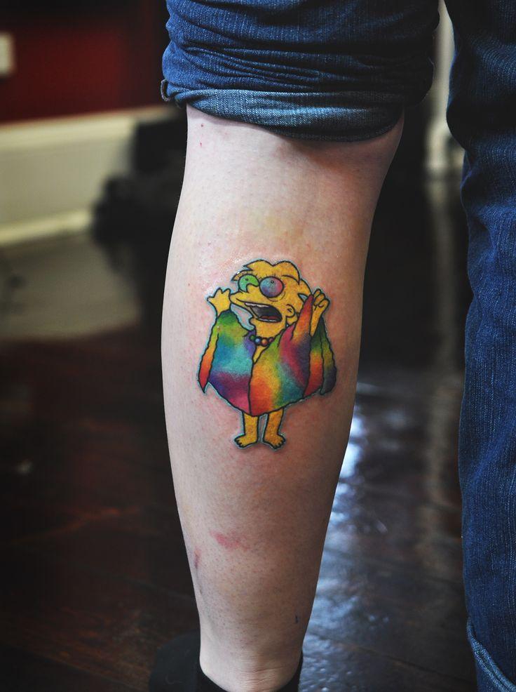 53 Tatuajes de los Simpson que te volaron la cabeza 50