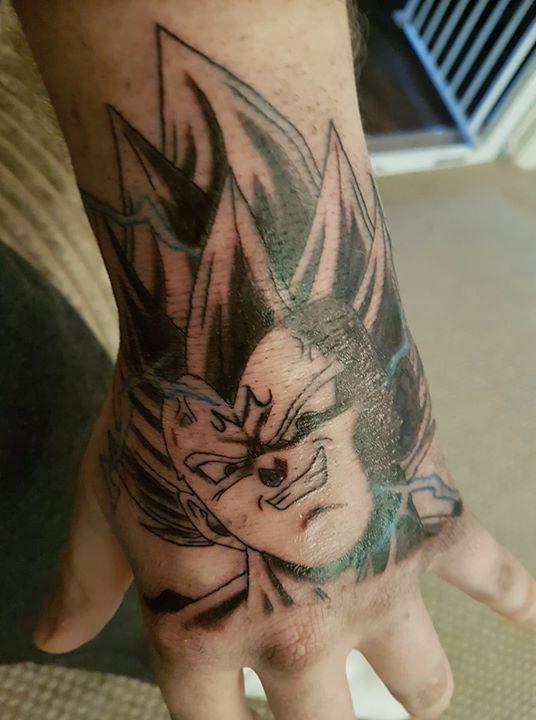 58 Mejores Tatuajes de Vegeta (+Significado) 33