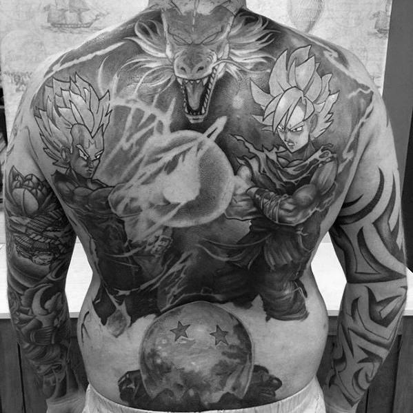 58 Mejores Tatuajes de Vegeta (+Significado) 34