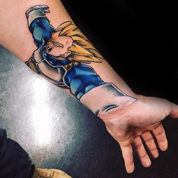 58 Mejores Tatuajes de Vegeta (+Significado) 25