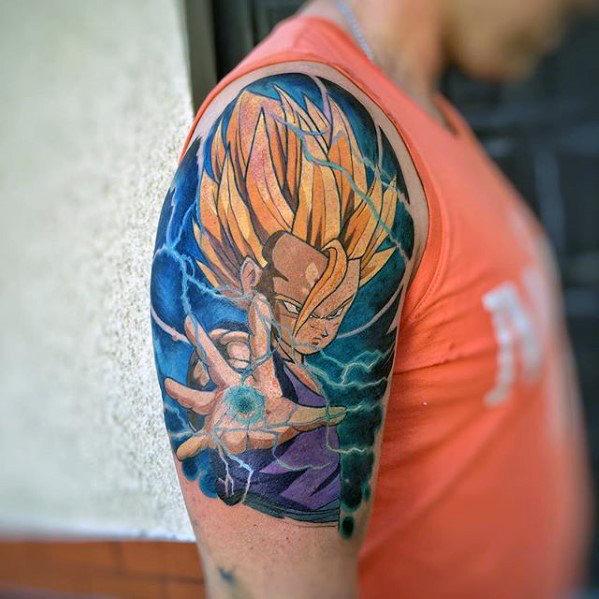 58 Mejores Tatuajes de Vegeta (+Significado) 28