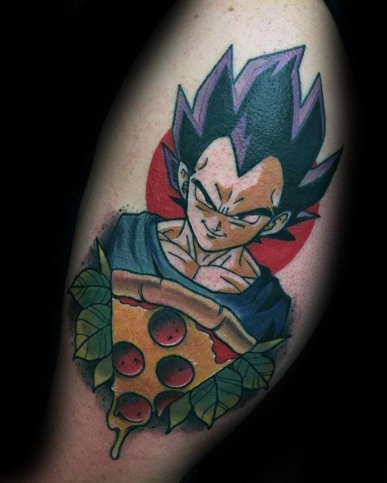58 Mejores Tatuajes de Vegeta (+Significado) 38